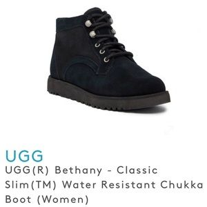 UGG Bethany Classic Slim Ankle Boot Water Resist 9